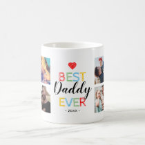 Best Daddy Ever Gift Photo Coffee Mug