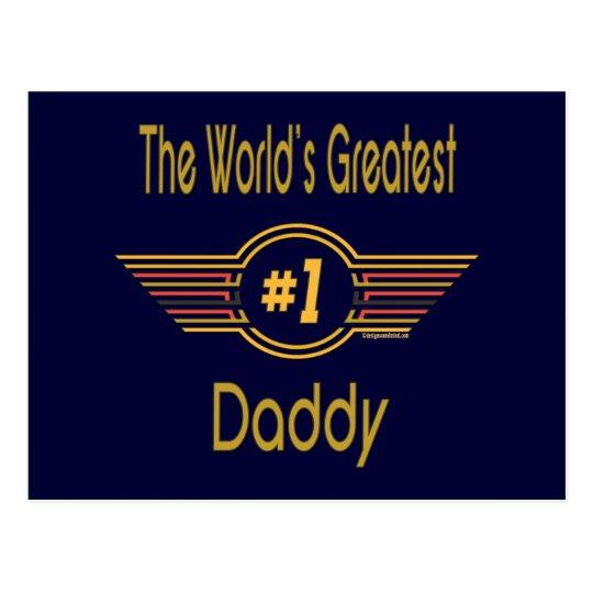 Best Daddy Gifts Postcard
