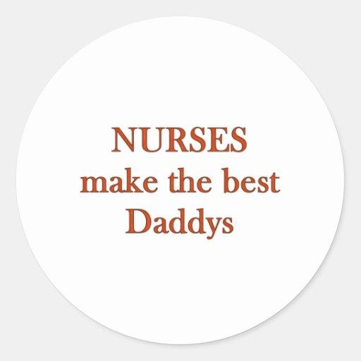 Best Daddys Classic Round Sticker