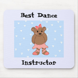 Best Dance Instructor Mouse Pad