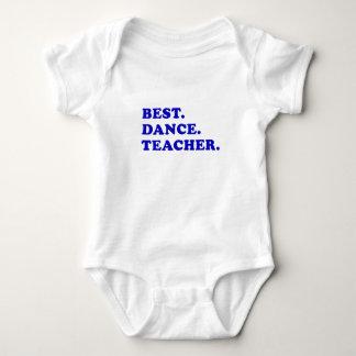 Best Dance Teacher Baby Bodysuit