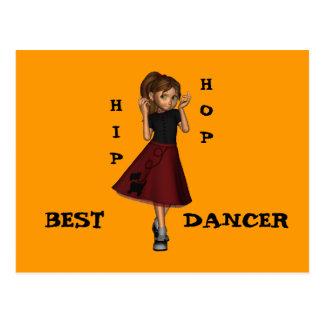 Best  Dancer Postcard