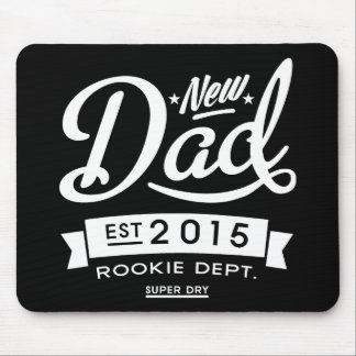 Best Dark New Dad 2015 Mouse Pad