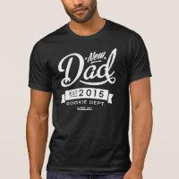 Best Dark New Dad 2015 T-shirts