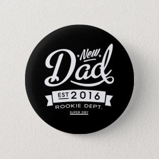 Best Dark New Dad 2016 Button