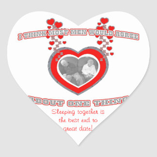 Best Date Ever! Heart Stickers