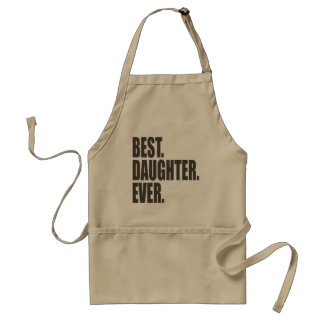 Best. Daughter. Ever. Adult Apron