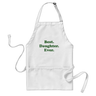 Best Daughter Ever Adult Apron