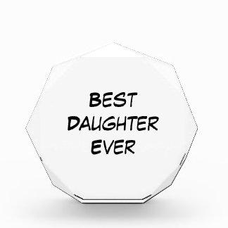 Best Daughter Ever Award