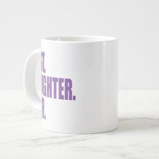 Best. Daughter. Ever. (purple) Jumbo Mugs