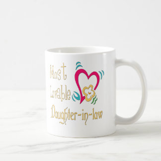 Best Daughter-in-law Gifts Coffee Mug