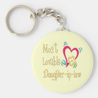 Best Daughter-in-law Gifts Keychain