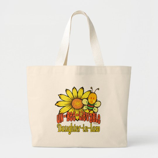 Best Daughter-in-law Gifts Large Tote Bag