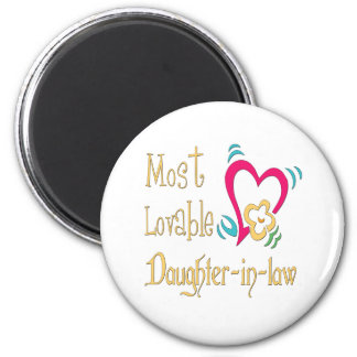 Best Daughter-in-law Gifts Magnet