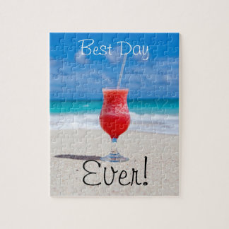Best Day Beach Jigsaw Puzzle