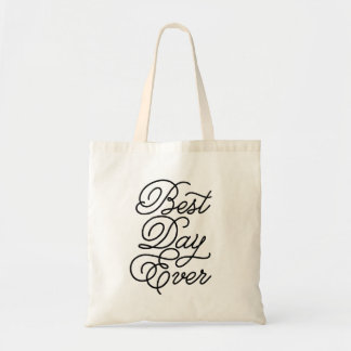 Best Day Ever Budget Tote Bag