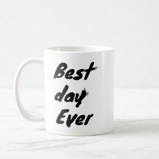Best Day Ever Classic White Coffee Mug
