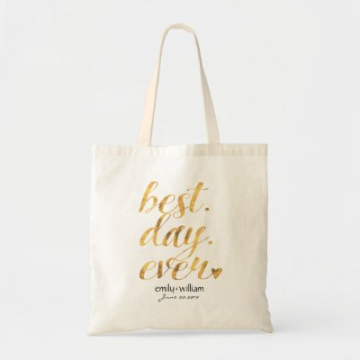 Tote Bag | BEST DAY EVER | Zazzle