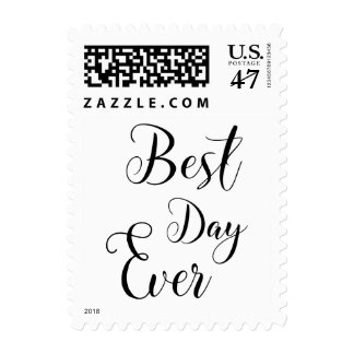 """Best Day Ever"" Post Stamps"