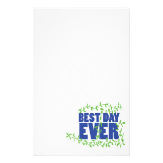 Best Day Ever Stationery