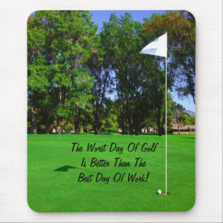 Best Day Golf Mousepad