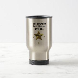 Best Director Award: Jessica 15 Oz Stainless Steel Travel Mug