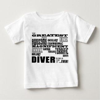 Best Divers : Greatest Diver Shirt