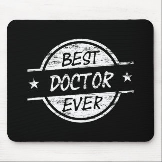 Best Doctor Ever White Mouse Pad