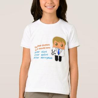 """Best Doctors in the World"" Kids T-Shirt"