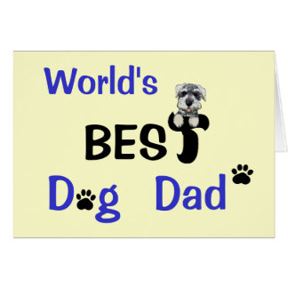 Best Dog Dad Greeting Cards