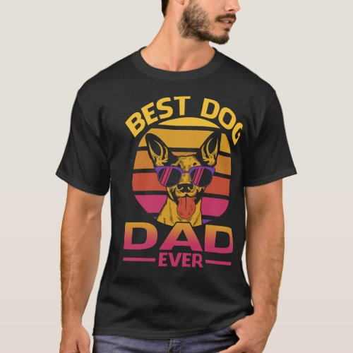 Best Dog Dad Ever T_Shirt