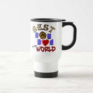 Best Dog Dad in the World Coffee Travel Mug Stainless Steel Travel Mug