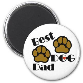 Best Dog Dad Merchandise Magnet