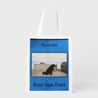 Best Dog Ever Grocery Bag at Zazzle.com/lizardmarsh*