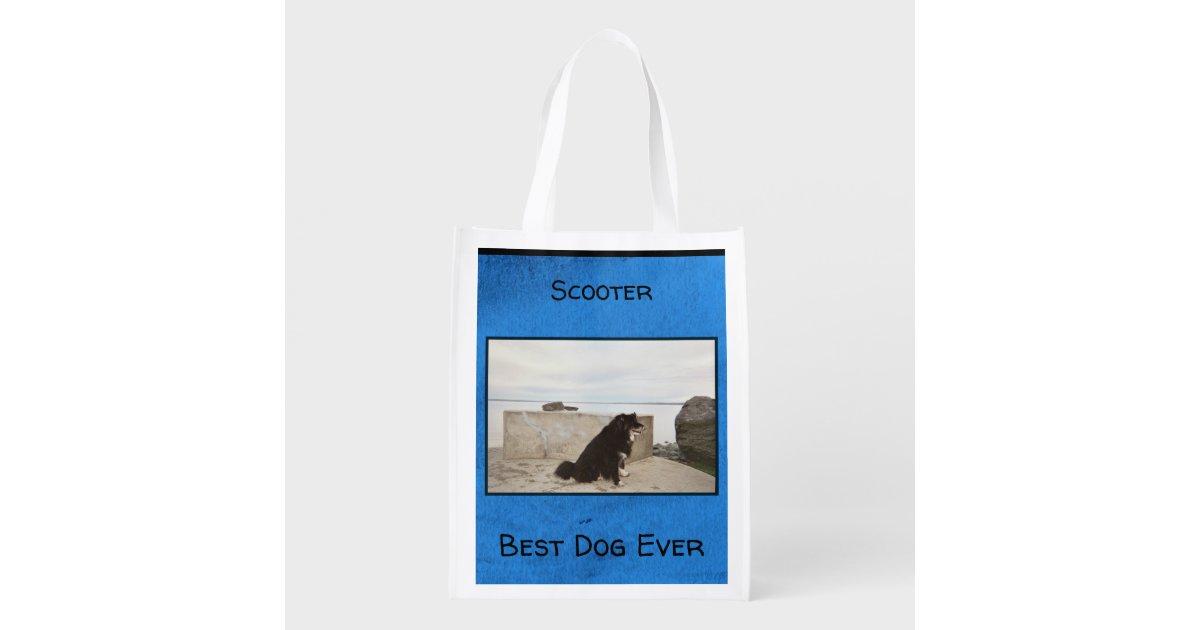Best Dog Ever Grocery Bag   Zazzle.com