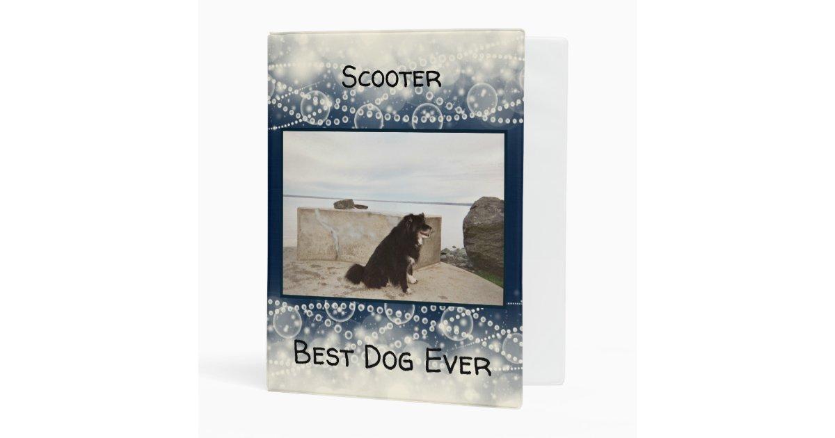 Best Dog Ever Mini Binder   Zazzle.com