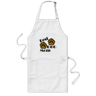 Best Dog Mom Apron with Dog Paws Merchandise