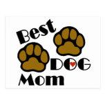 Best Dog Mom Dog Lover Gifts Postcard