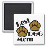 Best Dog Mom Dog Lover Gifts Refrigerator Magnet