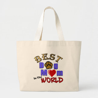 Best Dog Mom in the World Gifts Tote Bag