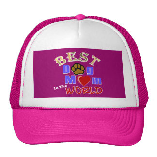Best Dog Mom in the World Gifts Trucker Hat