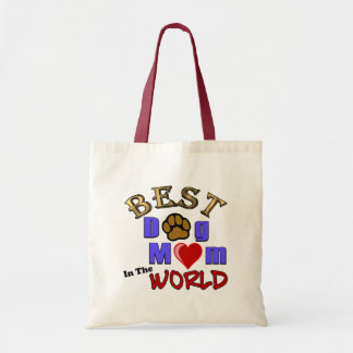 Best Dog Mom in the World Tote Bag