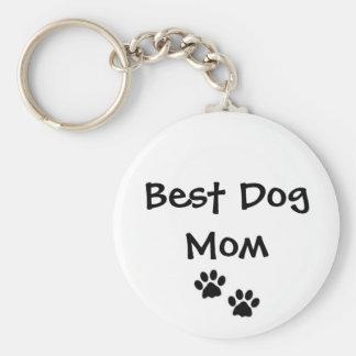 Best Dog Mom Keychain