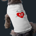 """Best Dog Monogram Names Wedding Dog Shirt<br><div class=""""desc"""">Best Man Monogram Names Wedding Dog Shirt. Customize by adding your names and initial to personalize your wedding attire for your special dog so that he or she can be part of the ceremony on your wedding day.</div>"""