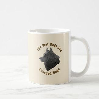Best Dogs Are Rescued - Schipperke Coffee Mug
