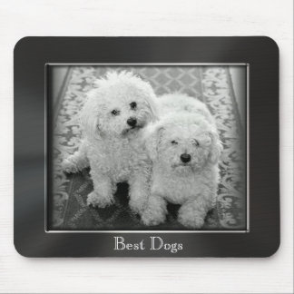 Best Dogs  Metal Photo Frame Mousepad