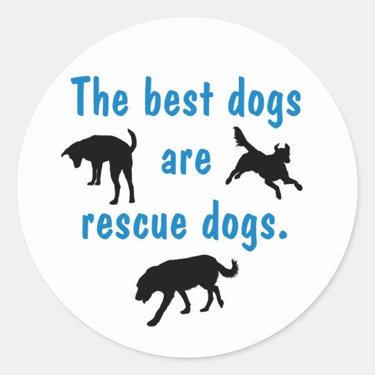 Best Dogs Sticker