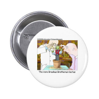 Best-Dressed Cactus Funny Gifts Collectibles Pinback Buttons