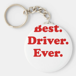 Best Driver Ever Keychain