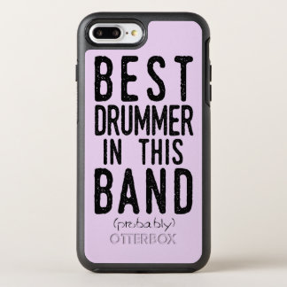 Best Drummer (probably) (blk) OtterBox Symmetry iPhone 8 Plus/7 Plus Case